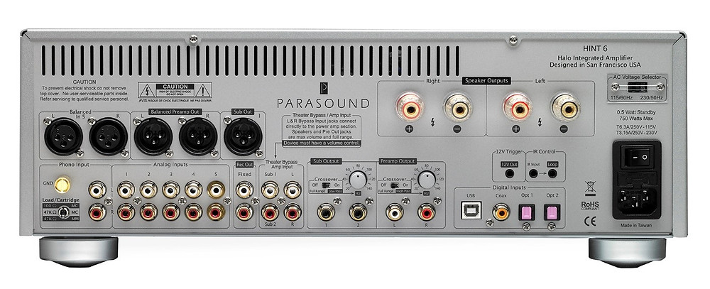 Back View Of Parasound Hint 6
