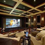 Ideas for home theater in your basement