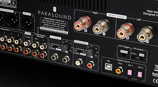 Connections For Parasound Hint 6