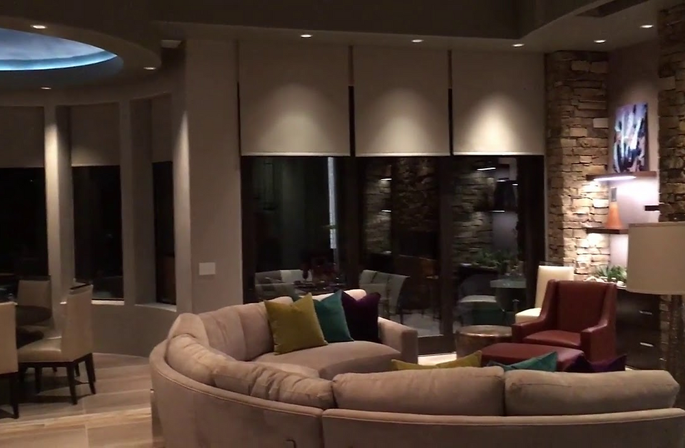 The Best Lighting Control System is made by Lutron