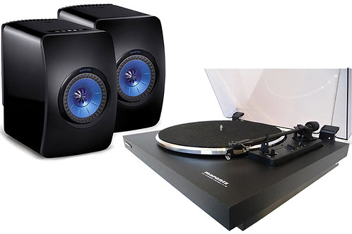 Turntable and Speaker Package KEF and Marantz Dealer