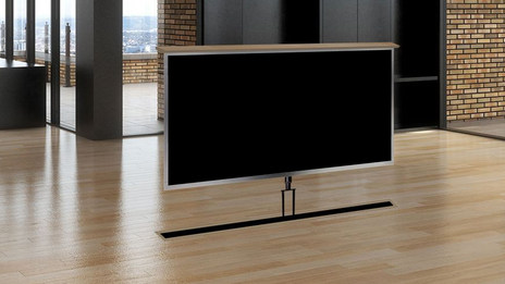 Under Floor Lift TV Installation NJ