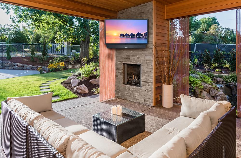 Outdoor TV Installation Mendham NJ