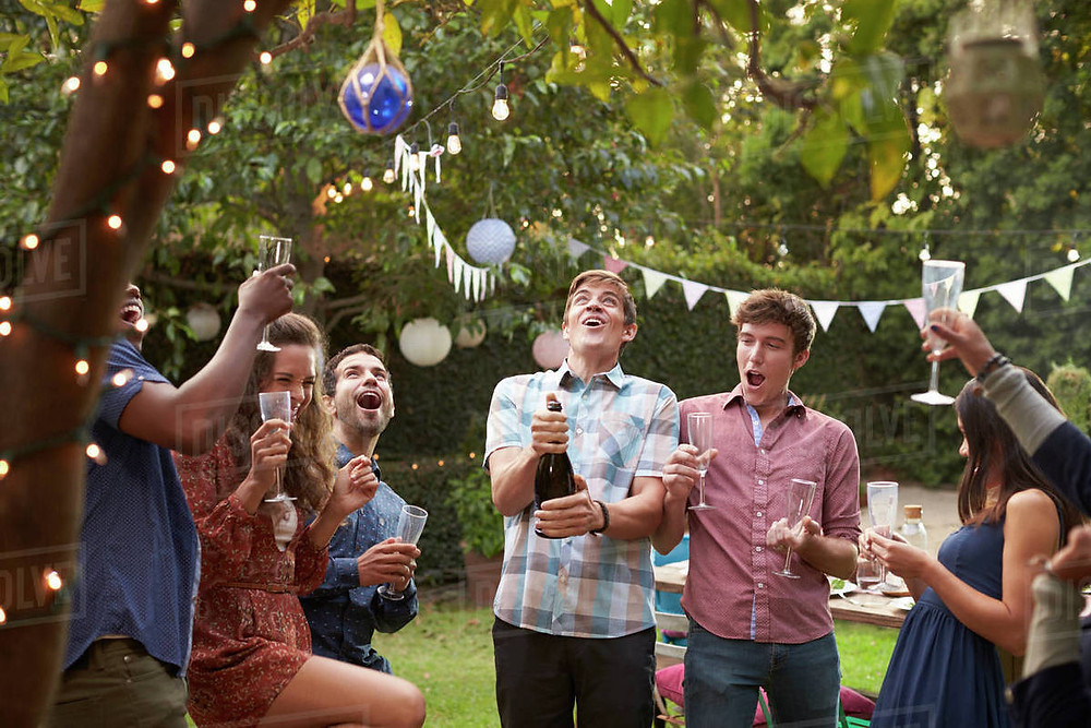 Outdoor speakers for backyard parties