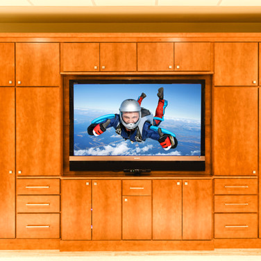 Custom TV Cabinet Bernardsville NJ