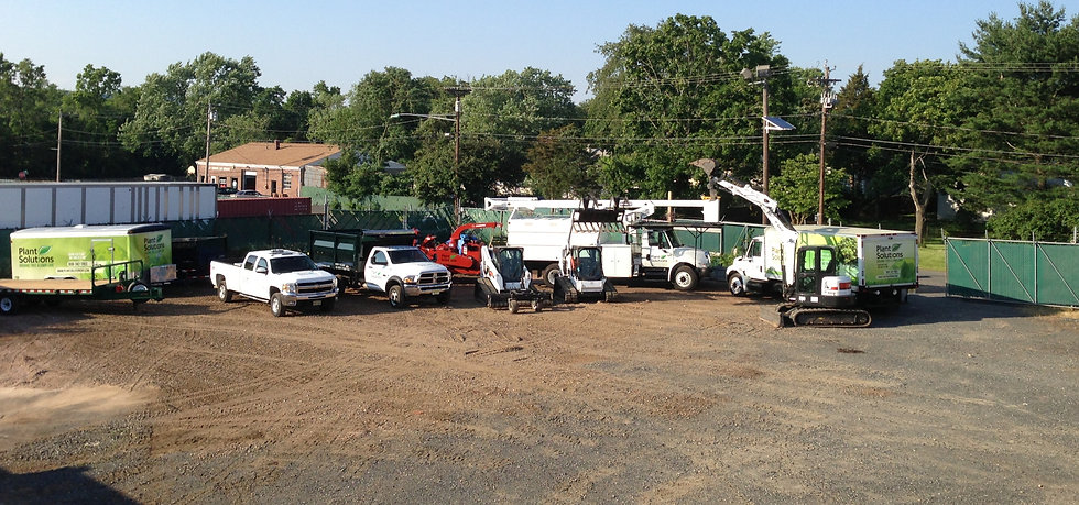 Commercial Lawn And Tree Services Fleet