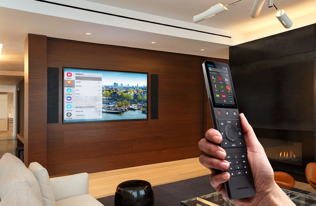 NJ Crestron Home Remote Control Dealer
