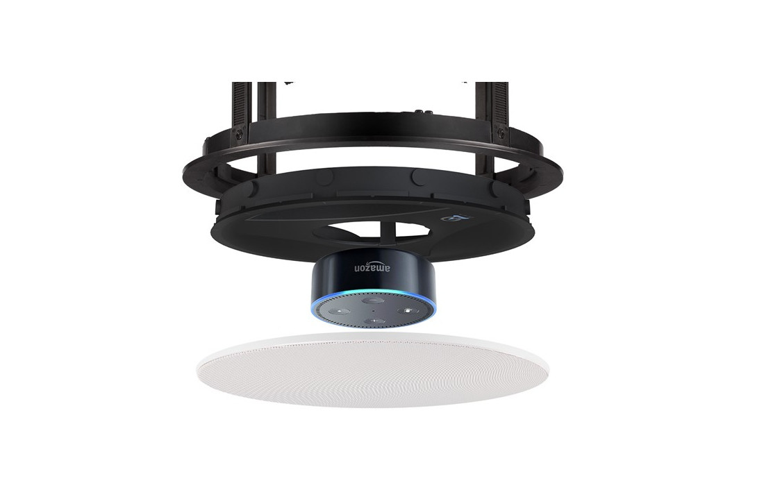 Alexa Dot In Ceiling Bracket For Voice Control