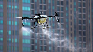 drone disinfecting NYC