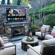 Outdoor TV Installation Spring Lake NJ.