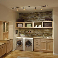 Monmouth County NJ Laundry Room Ideas With Sonos Speakers And Lutron Lighting