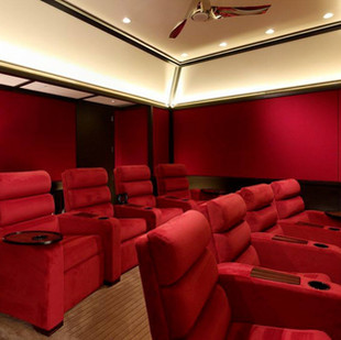 Home Theater Ideas With Bar