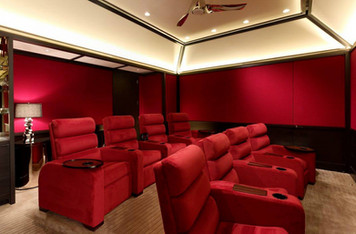Home Theater NJ Seating layout