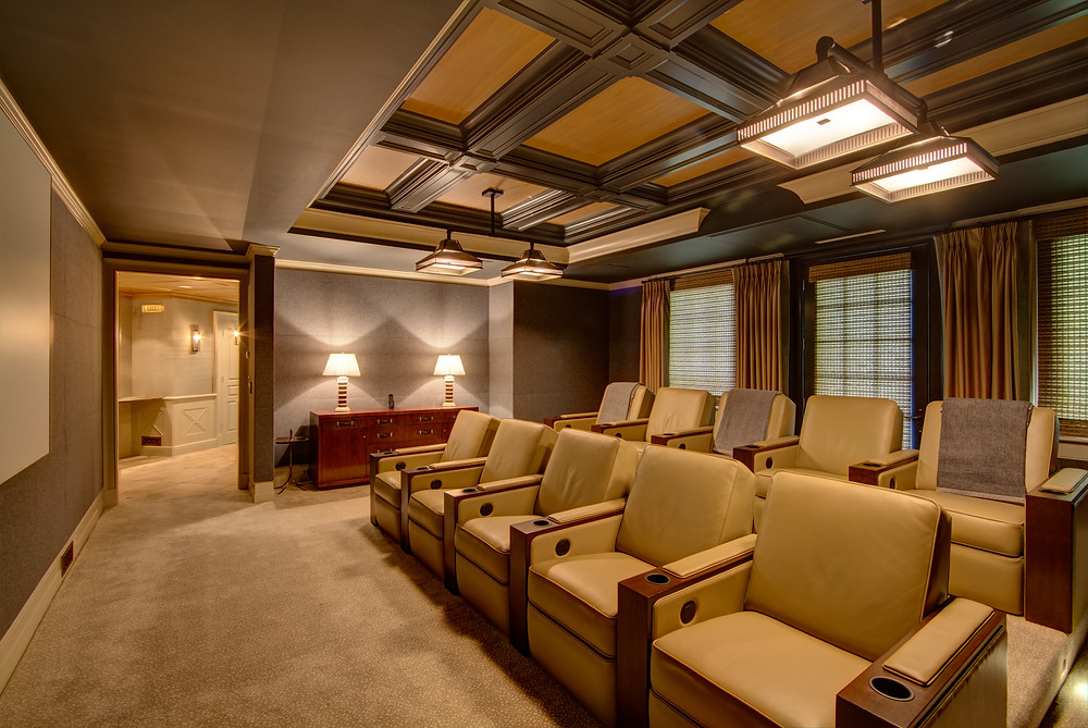 Custom Home Theater Design And Installation New Jersey