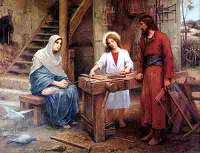 IHS The Feast of the Holy Family 12 January A.D. 2020 Ave Maria!