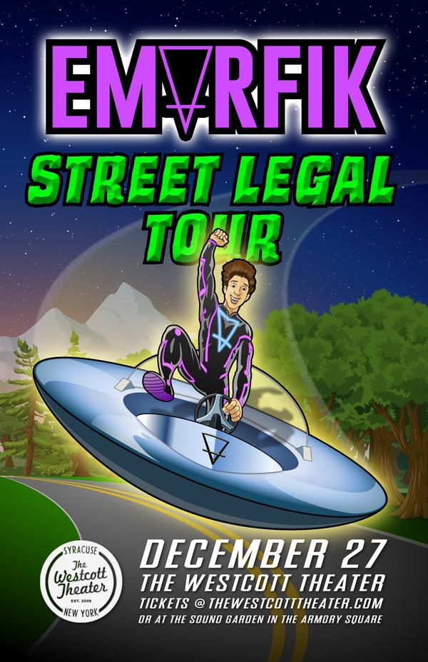 compressed Street Legal Poster Portfolio