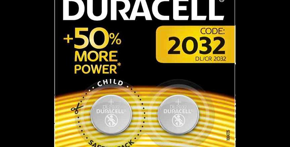 Duracell  batterie 2032 Bipack