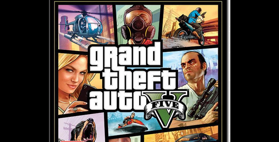 Grand Theft Auto V - GTA 5 Ps4