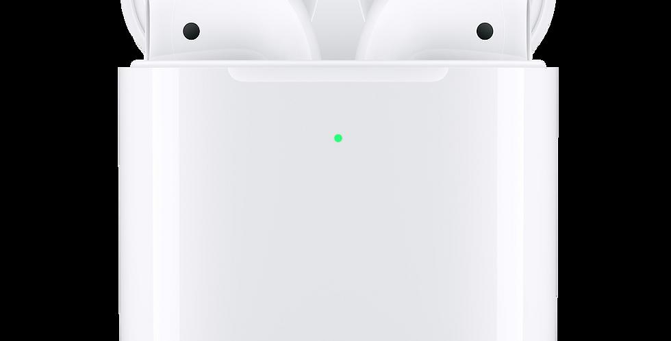 Apple AirPods 2 con ricarica wireless