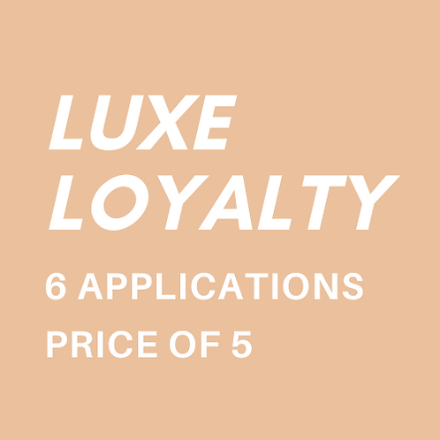 Luxe Loyalty Card