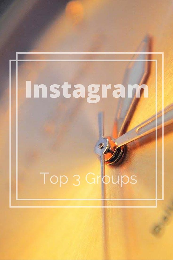 Top 3 Instagram Facebook Groups