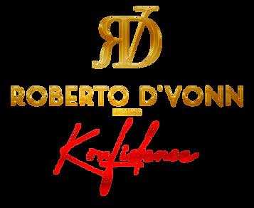 Roberto D'Vonn Konfidence logo gold no s