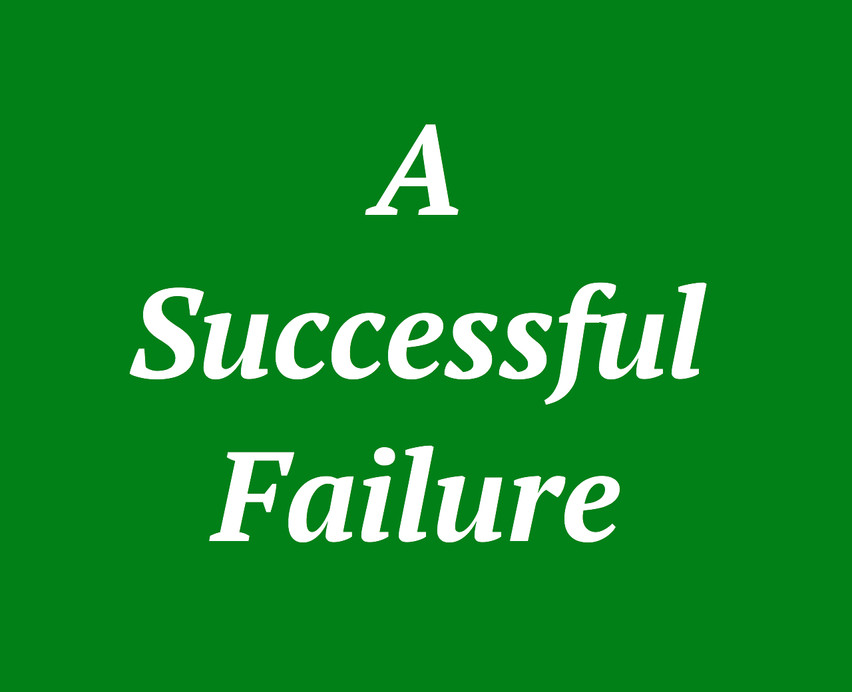 """A Successful Failure"""