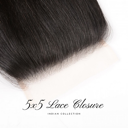 5x5 Lace Closure Indian
