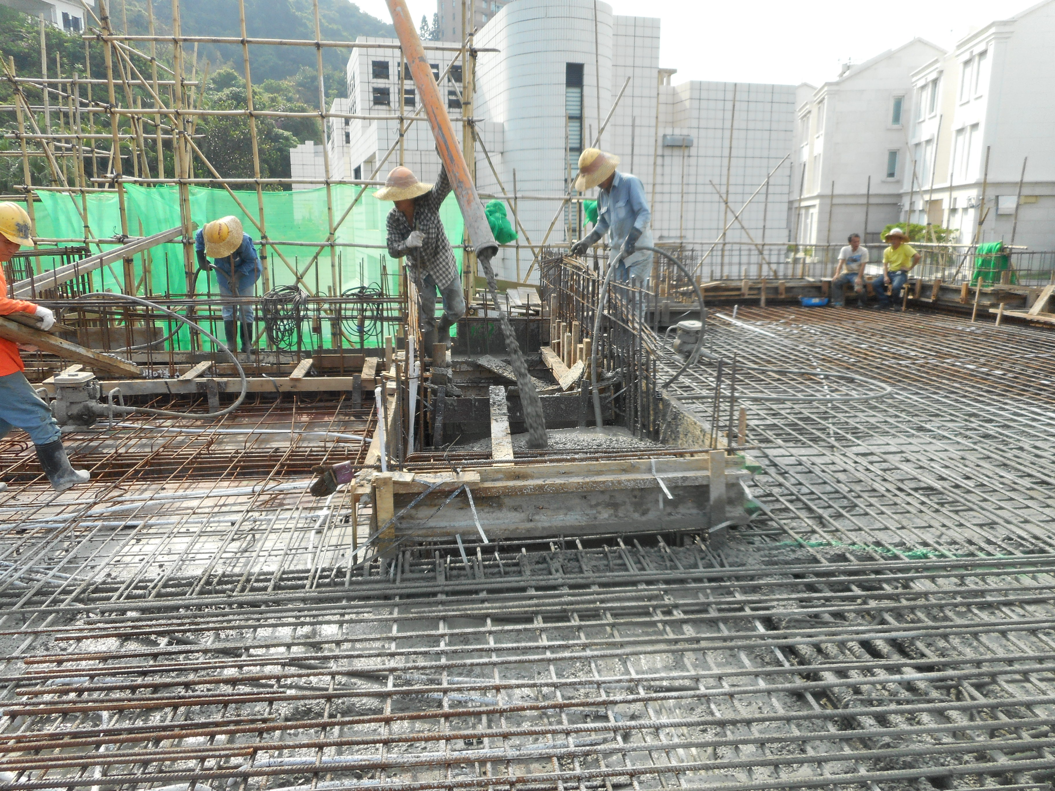 Concreting Photo