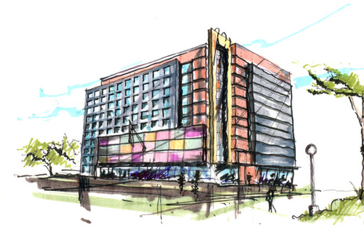 Proposal for Retail n Hotel