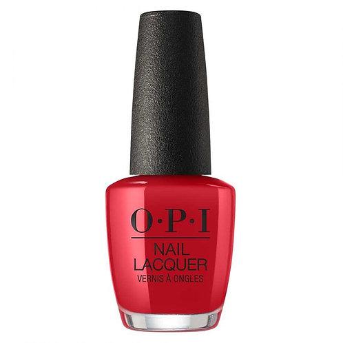 OPI NL Z13 - COLOR SO HOT IT BERNS