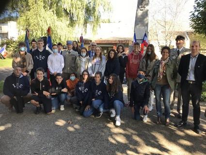Participation de nos élèves à la cérémonie du serment de Bon Encontre :