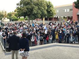 Rentrée des collégiens et lycéens du 2 septembre :