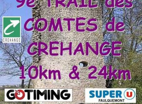 TRAIL DES COMTES DE CREHANGE