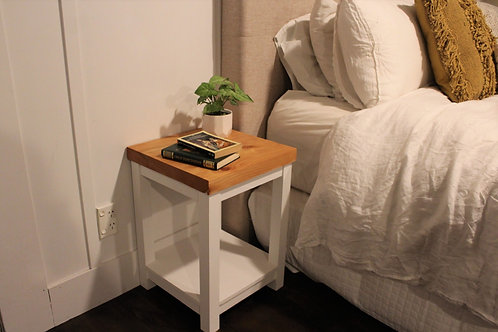 Bedside Table - Painted
