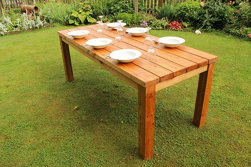 Outdoor Macrocarpa Table