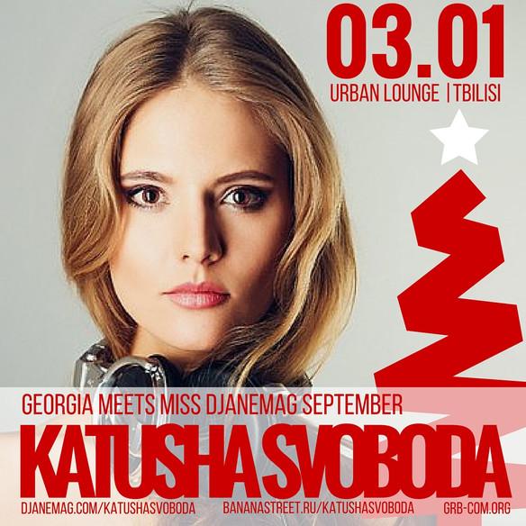 03/January - Katusha Svoboda @ Urban Lounge, Tbilisi, Georgia