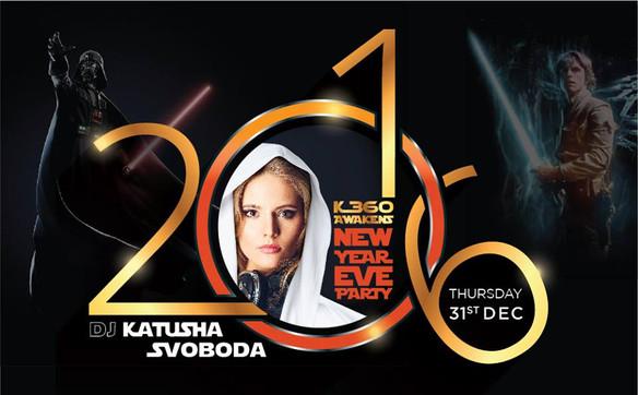 31/December - Katusha Svoboda @ KLUB360, Manama, Bahrain
