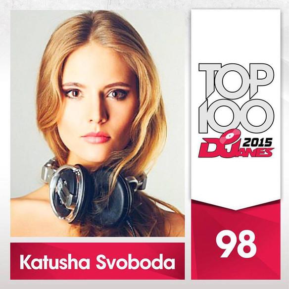 Katusha Svoboda - TOP100 DJanes 2015 (Djanemag.com version)