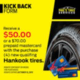 Coupon Hankook Tires | Paul's Tires Services | Miami Florida