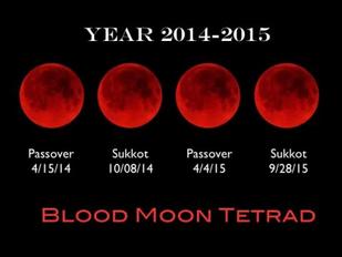 A Message for Sukkos 5775 Sukkos and the Blood Moon Tetrad