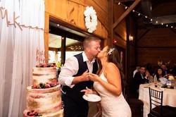 Cake on Barrel