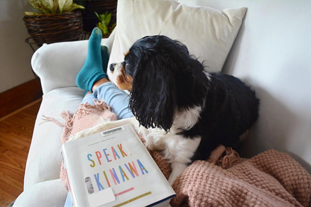 Speak, Okinawa by Elizabeth Miki Brina and Barkley, my puppy