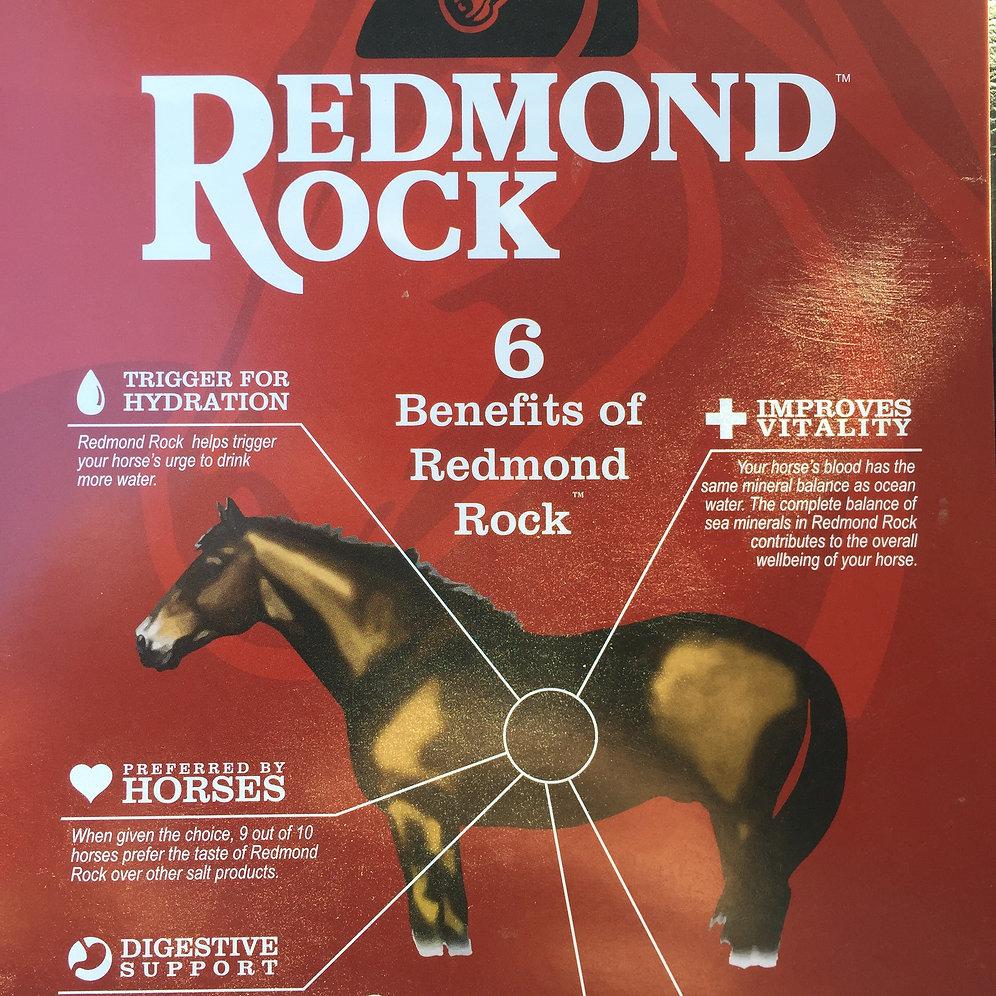 Redmond Rock Crushed Salt - 5 lb  bag