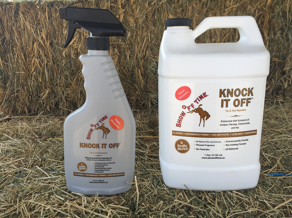 Show Off TIme Knock It Off Fly Spray - Spray & Gallon Combo