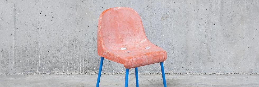 Tobia Zambotti | The Fan Chair / Pink Blue