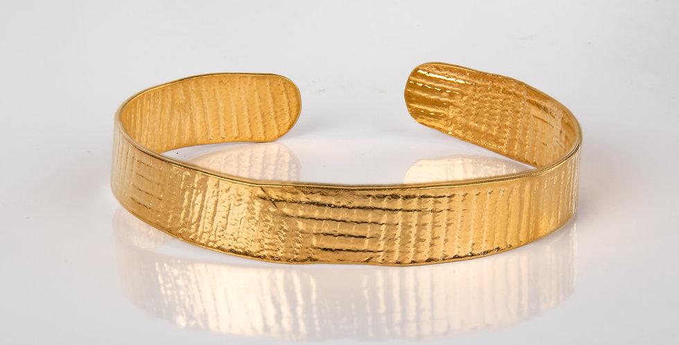 Tweek | PRESSED bracelet gold BIG