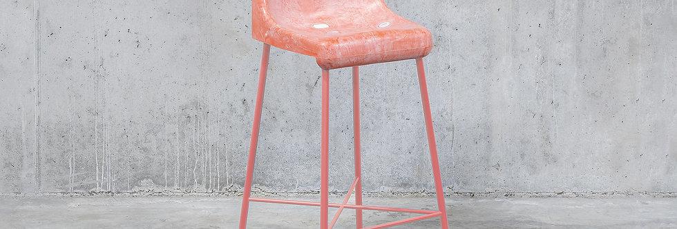 Tobia Zambotti |The Fan Stool / Pink