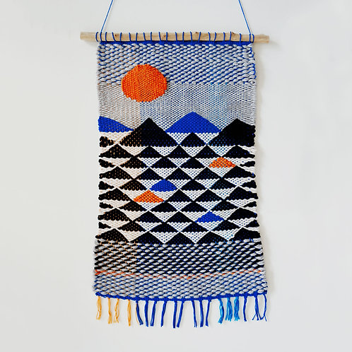Wasteless Wonders   Mountains Tapestry