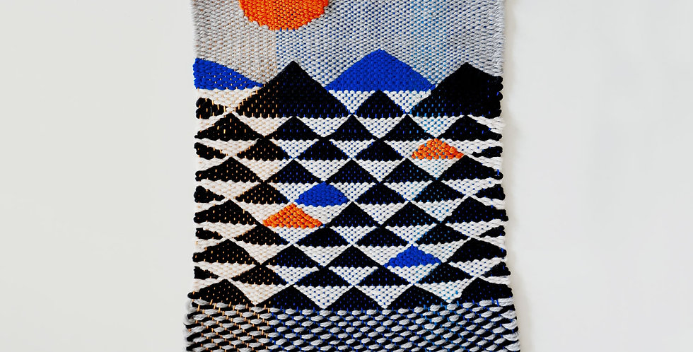 Wasteless Wonders | Mountains Tapestry
